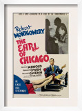 The Earl of Chicago, Robert Montgomery, Edward Arnold, 1940 Poster