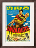 The Invaders (Aka 49th Parallel), Laurence Olivier, Glynis Johns, 1941 Poster