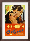21 Days Together (Aka 21 Days), Vivien Leigh, Laurence Olivier, 1940 Print