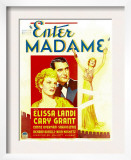 Enter Madame, Elissa Landi, Cary Grant on Window Card, 1935 Prints