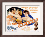 Easy Living, Victor Mature, Lizabeth Scott, Lucille Ball, Sonny Tufts, Lloyd Noaln, 1949 Poster