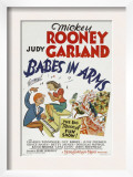 Babes in Arms, Mickey Rooney, Judy Garland, 1939 Art