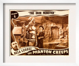 The Phantom Creeps, Chapter 6: the Iron Master, Bela Lugosi, 1939 Poster