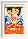 What Price Innocence (Aka Shall the Children Pay), Midget Window Card, 1933 Prints