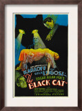 The Black Cat, Boris Karloff, Harry Cording, Jacqueline Wells, Bela Lugosi, 1934 Prints