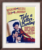 Take a Letter, Darling, Fred Macmurray, Rosalind Russell on Window Card, 1942 Posters