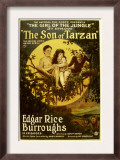 The Son of Tarzan, Gordon Griffith, Mae Giraci in &#39;Episode 3: the Girl of the Jungle&#39;, 1920 Prints