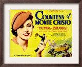 Countess of Monte Cristo, Fay Wray, Paul Lukas, 1934 Poster