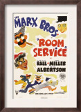 Room Service, the Marx Brothers, 1938 Prints