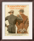 Kuppenheimer, Magazine Advertisement, USA, 1910 Poster