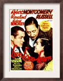 Live Love and Learn, Robert Montgomery, Robert Benchley, Rosalind Russell on Window Card, 1937 Poster