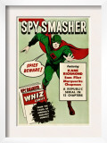 Spy Smasher, 1942 Art