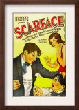 Scarface, Paul Muni, Ann Dvorak, 1932 Art