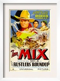 Rustlers&#39; Roundup, Tom Mix, Noah Beery Jr., Diane Sinclair, 1933 Posters