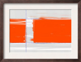 Orange Rectangle Prints by  NaxArt