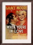 When You'Re in Love, Cary Grant, Grace Moore, 1937 Prints