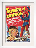 Tower of London, Basil Rathbone, Boris Karloff, 1939 Prints