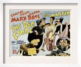 The Big Store, Harpo Marx, Chico Marx, Virginia O'Brien, Groucho Marx, 1941 Poster