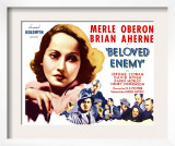 Beloved Enemy, 1936 Print