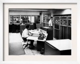 Computers at the 'Laboratory of Tomorrow,' 1964 Print