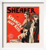Strangers May Kiss, Norma Shearer on Window Card, 1931 Poster