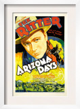 Arizona Days, Tex Ritter, 1937 Prints