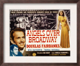 Angels over Broadway, Thomas Mitchell, Douglas Fairbanks Jr., Rita Hayworth, 1940 Poster