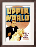Upper World, Warren William, Ginger Rogers on Midget Window Card, 1934 Art