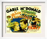 San Francisco, Jeanette Macdonald, Clark Gable, 1936 Prints
