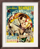 What Price Hollywood, Neil Hamilton, Constance Bennett on Window Card, 1932 Poster