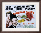 Dream Wife, Deborah Kerr, Cary Grant, Betta St.John, 1953 Prints