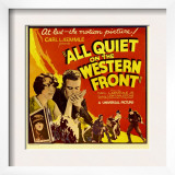 All Quiet on the Western Front, 1930 Print
