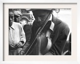 Blind Street Musician, West Memphis, Arkansas, c.1935 Prints by Ben Shahn