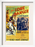The Lone Ranger, 'Episode 6: Red Man's Courage', 1938 Posters