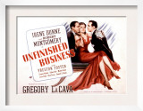 Unfinished Business, Robert Montgomery, Irene Dunne, Preston Foster, 1941 Prints