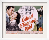 Colonel Effingham's Raid, Joan Bennett, William Eythe, Charles Coburn, 1946 Prints