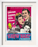 Show Boat, Joe E. Brown, Kathryn Grayson, Howard Keel, Ava Gardner, 1936 Posters