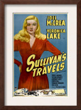 Sullivan's Travels, Veronica Lake, 1941 Posters