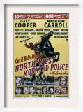 North West Mounted Police, 1940 Poster