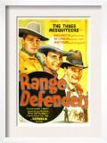 Range Defenders, Bob Livingston, Ray Corrigan, Max Terhune, 1937 Prints