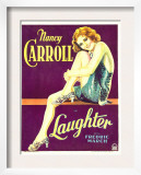Laughter, Nancy Carroll on Window Card, 1930 Poster