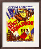 The Lost Squadron, Richard Dix on Window Card, 1932 Print