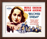 Beloved Enemy, 1936 Art