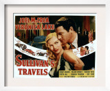 Sullivan's Travels, Veronica Lake, Joel Mccrea, 1941 Art