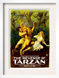 The Revenge of Tarzan, Gene Pollar, Karla Schramm, 1920 Prints