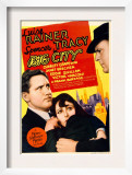 Big City, Spencer Tracy, Luise Rainer on Midget Window Card, 1937 Prints