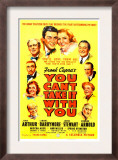 You Can'T Take it with You, James Stewart, Jean Arthur, 1938 Prints