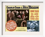 Charlie Chan at the Wax Museum, Inset Top and Bottom Second from Left: Sidney Toler, 1940 Prints