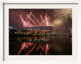 2008 Beijing Olympics Opening Ceremony, Bird's Nest, Beijing, China Framed Photographic Print