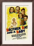 Brother Rat and a Baby, 1940 Posters